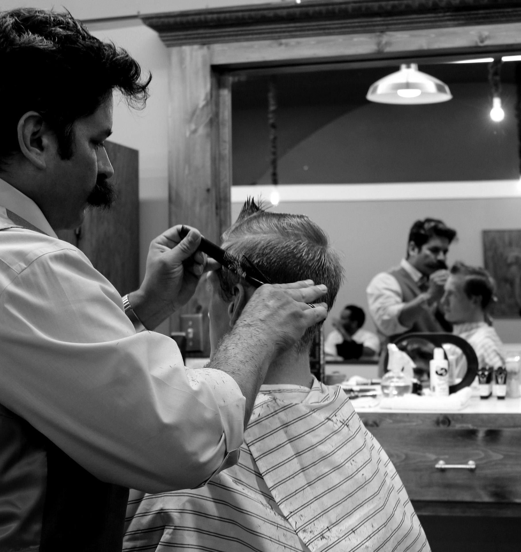 Trendy Hair Salons Pose threats to Barbers