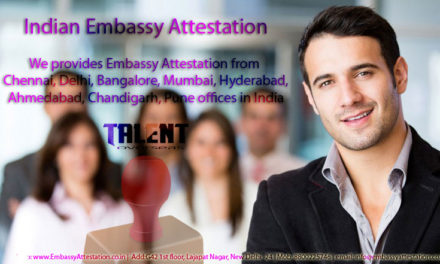 Indian Embassy Attestation – A must before flying abroad!